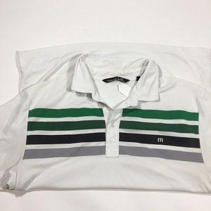 TravisMathew men's golf polo shirt